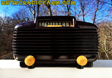 Load image into Gallery viewer, SOLD! - Mar 4, 2016 - EXTREMELY RARE Art Deco Vintage Retro Industrial Age 1950 Cromwell Model 1020 Bakelite Tube Radio Totally Restored! - [product_type} - Cromwell - Retro Radio Farm