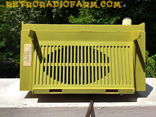 Load image into Gallery viewer, SOLD! - July 3, 2017 - AVOCADO Green Retro Mid Century Vintage 1972 Zenith Model C-412F AM FM Solid State Radio Amazing! - [product_type} - Zenith - Retro Radio Farm