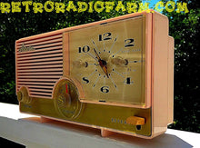 Load image into Gallery viewer, SOLD! - Nov 28, 2016 - BLUETOOTH MP3 Ready - Fabulous Pink Mid Century Jetsons Vintage 1960 Arvin Model 5583 Tube Radio Amazing! - [product_type} - Arvin - Retro Radio Farm