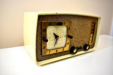 Load image into Gallery viewer, Bluetooth Ready To Go - Chateau Ivory 1953 Arvin 758T AM Vacuum Tube Radio Rare Model Excellent Condition and Sounds Great!