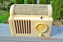SOLD! - Feb 16, 2016 - BEAUTIFUL Retro Vintage 1959 Mitchell Model TSB47  Tube AM Radio Bed Lamp Totally Restored! , Vintage Radio - Mitchell, Retro Radio Farm  - 4