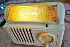 SOLD! - Feb 16, 2016 - BEAUTIFUL Retro Vintage 1959 Mitchell Model TSB47  Tube AM Radio Bed Lamp Totally Restored! , Vintage Radio - Mitchell, Retro Radio Farm  - 6