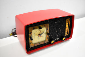 Coral Cutie 1953 Arvin 758T AM Vacuum Tube Radio Rare Model Totally Restored and Sounds Great!