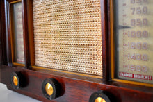 Load image into Gallery viewer, Rosewood 1953 Philco Model 53-958 Rare FM & AM Vacuum Tube Radio Incredible Sound Presence!