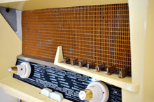 Load image into Gallery viewer, Renown Architect Le Corbusier Designed 1958 Radiola Model 248-A Bakelite AM Shortwave Vacuum Tube Radio Works Great Superlative Design!