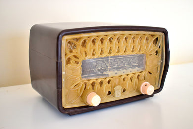 Made in France Mid Century Vintage 1952 Radiola Model RA11_U AM Shortwave Vacuum Tube Radio Very Tres Bien!