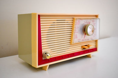 Made in France Mid Century Vintage 1960 Schneider Boy Shortwave Vacuum Tube Radio Oui Monsiour!