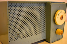 Load image into Gallery viewer, Sage Songster Vintage 1957 Westinghouse H-744T4 AM Vacuum Tube Radio Nice Sounding Unique Design!