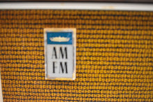 Load image into Gallery viewer, Bluetooth Ready To Go -  Wood and Tan 1966 Admiral Model 3900 AM FM Vacuum Tube Radio Sounds Marvelous Rare