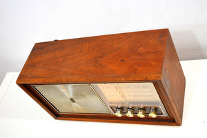 Bluetooth Ready To Go - Wood 1963 Motorola Model B10WA AM FM Vacuum Tube Radio Solid Player and Construction