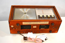 Load image into Gallery viewer, Bluetooth Ready To Go - Wood 1963 Motorola Model B10WA AM FM Vacuum Tube Radio Solid Player and Construction