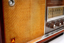 Load image into Gallery viewer, Bluetooth Ready To Go -  Wood 1963 Panasonic Model 782 AM FM Vacuum Tube Radio Rare Early Import High End Model Sounds Great!
