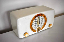 Load image into Gallery viewer, White Elephant 1952 Zenith K510W AM Vacuum Tube Radio Elephant In The Room Sound!