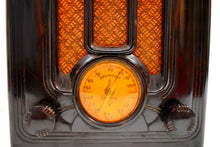 Load image into Gallery viewer, Depression Era Mini Tombstone 1935 Emerson Model 108 Vacuum Tube AM Radio