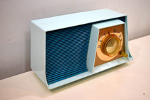 Load image into Gallery viewer, Blue Bayou Mid Century Retro 1962 Motorola A17B3 Vacuum Tube AM Radio Cool Model Rare Color!