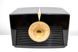 Arabica Brown Vintage 1949 RCA Victor Model 8X541 AM Vacuum Tube Radio Popular Model In Its Day and Today!