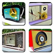 Set of Rare Radio Drink Coasters - [product_type} - Retro Radio Farm - Retro Radio Farm