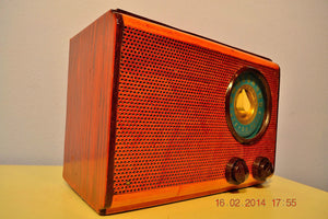 SOLD! - Feb 28, 2014 - BEAUTIFUL Wood Vintage Retro 1946 Emerson Model 509 AM Tube Radio Works! Wow! - [product_type} - Emerson - Retro Radio Farm