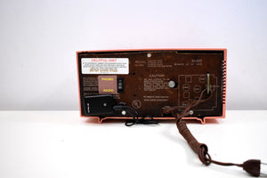Bluetooth Ready To Go - Rose Pink 1959 Westinghouse Model H545T5A Tube AM Radio