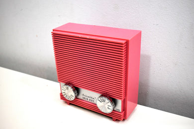 Barbie Dream House Pink 1965 Juliette Model RS-61 Solid State AM Radio OMG Like For Sure Totally!