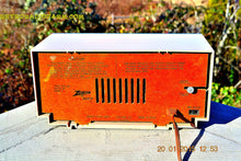 Load image into Gallery viewer, SOLD! - Mar 15, 2016 - BEIGE Pink Mid Century Retro Zenith Model G516L AM Clock Radio Totally Restored! , Vintage Radio - Zenith, Retro Radio Farm  - 9