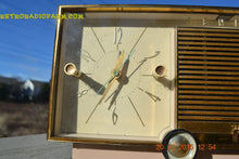 Load image into Gallery viewer, SOLD! - Mar 15, 2016 - BEIGE Pink Mid Century Retro Zenith Model G516L AM Clock Radio Totally Restored! , Vintage Radio - Zenith, Retro Radio Farm  - 7