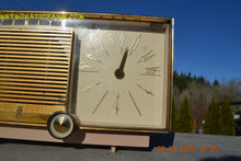 Load image into Gallery viewer, SOLD! - Mar 15, 2016 - BEIGE Pink Mid Century Retro Zenith Model G516L AM Clock Radio Totally Restored! , Vintage Radio - Zenith, Retro Radio Farm  - 8