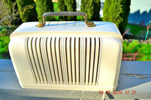 Load image into Gallery viewer, SOLD! - April 7, 2014 - BEAUTIFUL Post War Industrial Bakelite 1947 Silvertone 6012 Tube Radio Works! - [product_type} - Silvertone - Retro Radio Farm