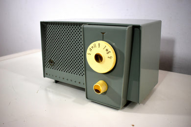 Bluetooth Ready To Go - Sage Songster Vintage 1957 Westinghouse H-744T4 AM Vacuum Tube Radio