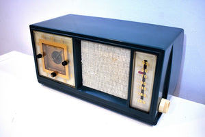 Limerock Green Silvertone 1952 Model 2009 AM Vacuum Tube Radio Sears Roebuck Classic!!