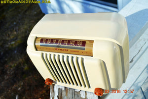 SOLD! - Apr 15, 2016 - CLASSIC 1947 Ivory Bendix Aviation Model 526A Bakelite AM Tube AM Radio Totally Restored! , Vintage Radio - Bendix Aviation, Retro Radio Farm  - 10