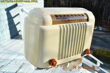Load image into Gallery viewer, SOLD! - Apr 15, 2016 - CLASSIC 1947 Ivory Bendix Aviation Model 526A Bakelite AM Tube AM Radio Totally Restored! , Vintage Radio - Bendix Aviation, Retro Radio Farm  - 5