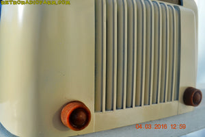 SOLD! - Apr 15, 2016 - CLASSIC 1947 Ivory Bendix Aviation Model 526A Bakelite AM Tube AM Radio Totally Restored! , Vintage Radio - Bendix Aviation, Retro Radio Farm  - 7