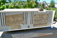 Load image into Gallery viewer, SOLD! - March 16, 2014 - RETRO Vintage Eames AM 1950's Westinghouse AM Tube Clock Radio H753LW Works! , Vintage Radio - Admiral, Retro Radio Farm  - 7