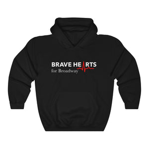 Open image in slideshow, BRAVE HEARTS FOR BROADWAY/Hooded Sweatshirt