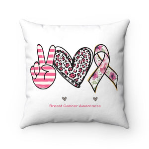 Open image in slideshow, Peace Love & Cure Pillow