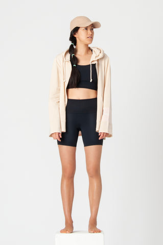 Ly in Pebbles Pilates Hot Pants