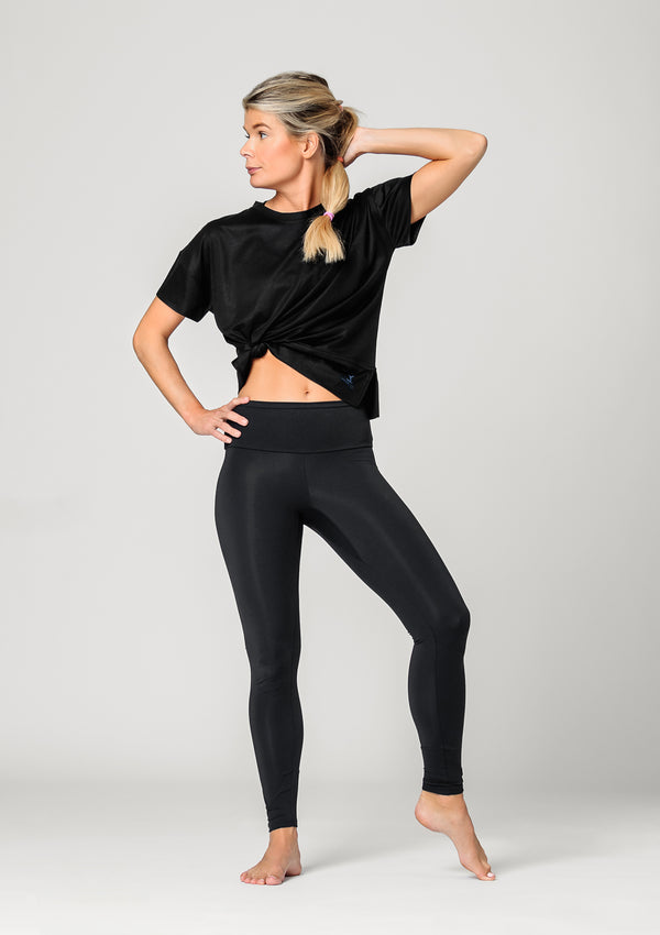 Pilates Sportswear - Exercise T-Shirt - Pebbles Pilates