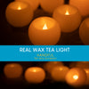 Real Wax Round Tea Light