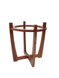 U - Base with Bamboo Carved Chairs