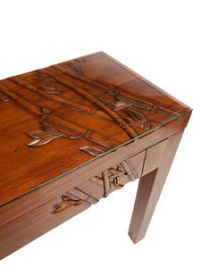 Bamboo Carved - Console/Desk
