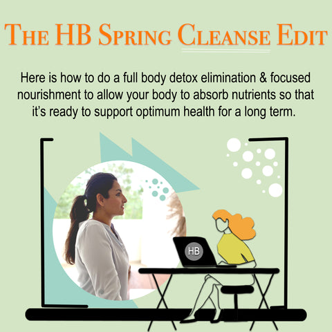 The HB Spring Cleanse Edit