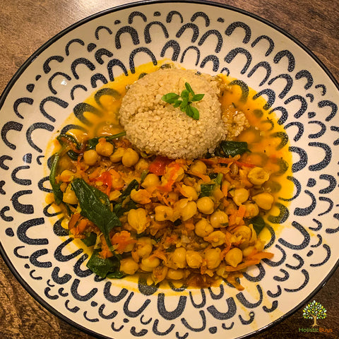 Chickpeas & Vegetable Stew