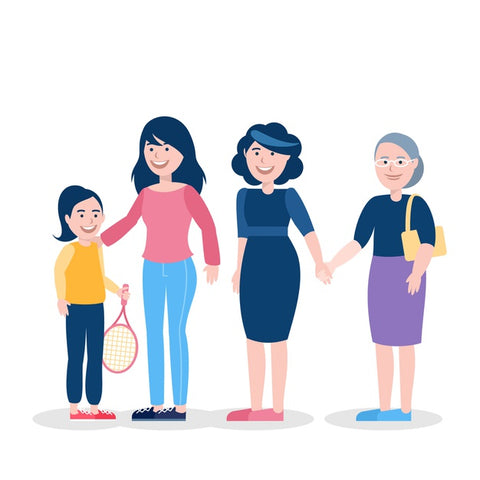 women of all ages