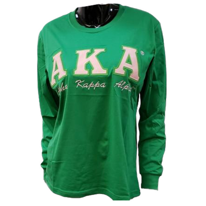 AKA Tee Shirt Long Sleeve