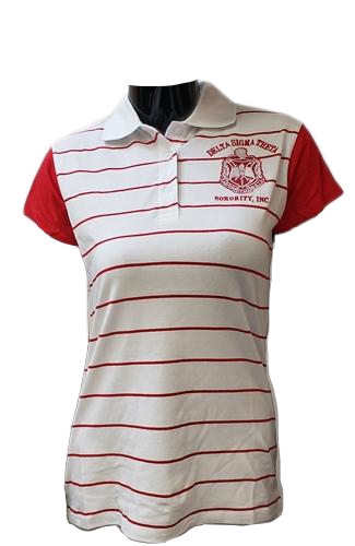Delta Striped Polo