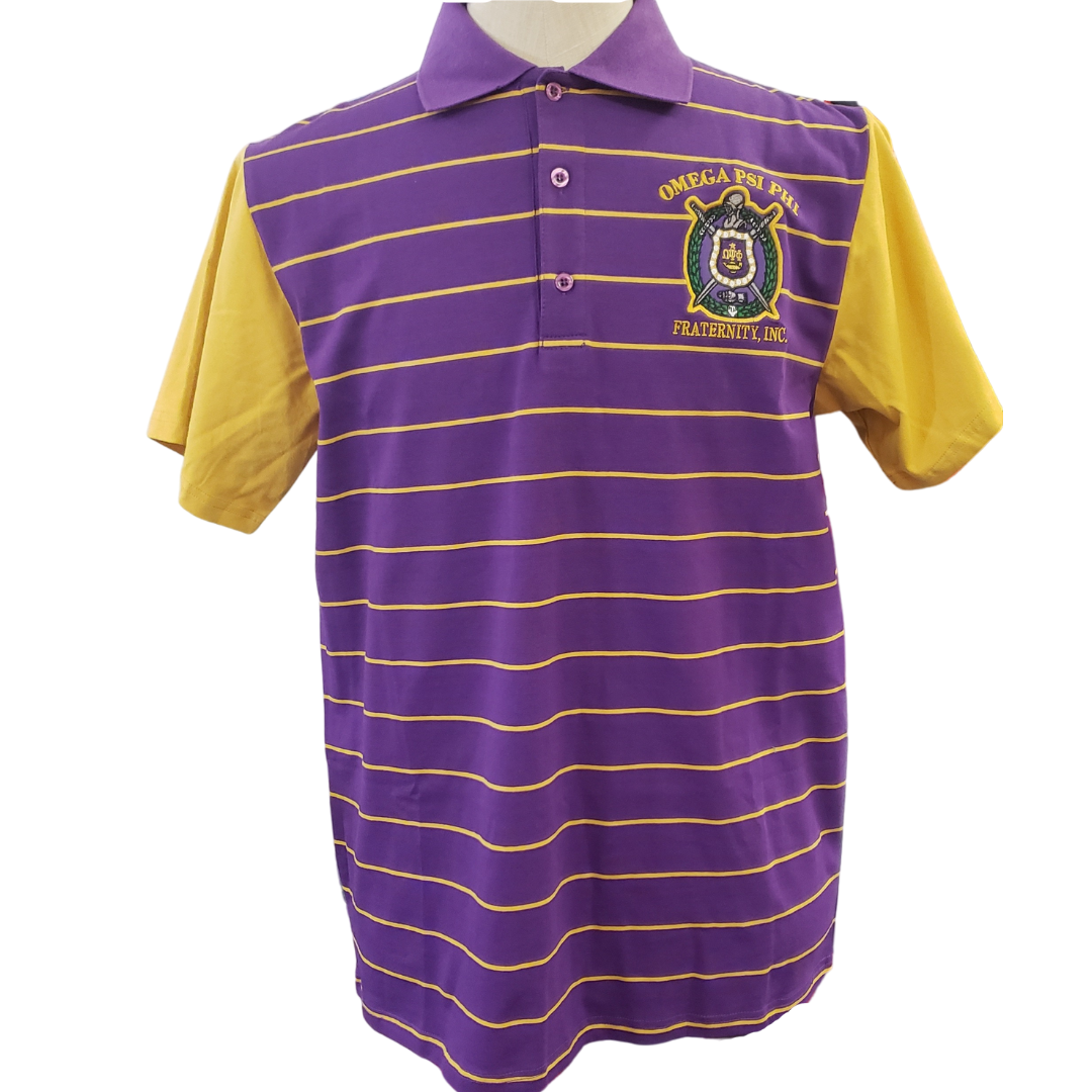 Omega Striped Polo