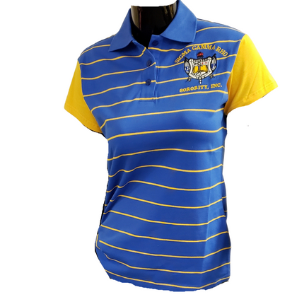 SGRHO Striped Polo