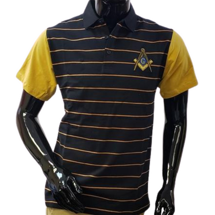 Mason Striped Polo