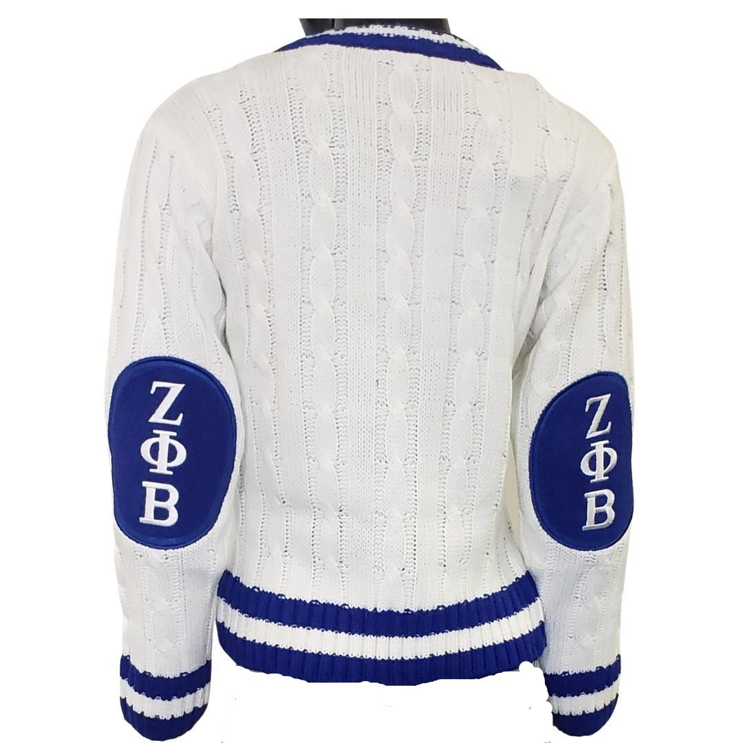 Zeta V Neck Cream Sweater